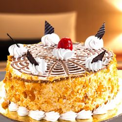 Butter Scotch Cake - 1KG(Hot Breads)