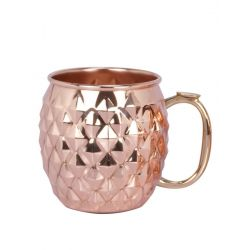 Diamond Etched Mule Mug
