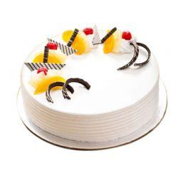 Pineapple Egglesss Cake 1 kg (Cake Walk)