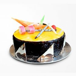 Choco Orange Cake 1 kg (Cake Walk)