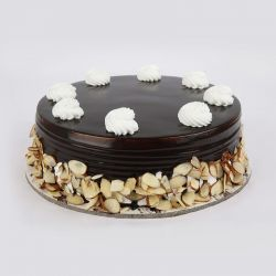 Chocolate Almond Cake 1 kg (Cake Walk)