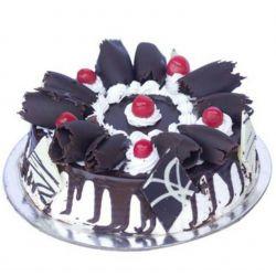 Black Forest Supereme Eggless Cake - 1 kg (Kabhie B)