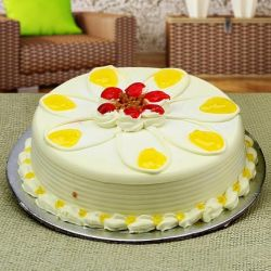 Butter Scoth Eggless Cake - 1 kg (Kabhie B)