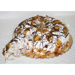 Cashew Nougat Eggless Gateaux - 1 kg (Kabhie B)