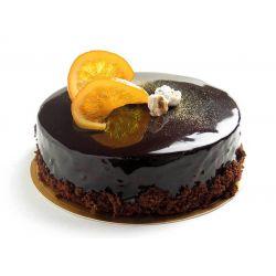 Chocolate Eggless Gateaux - 1 kg (Kabhie B)
