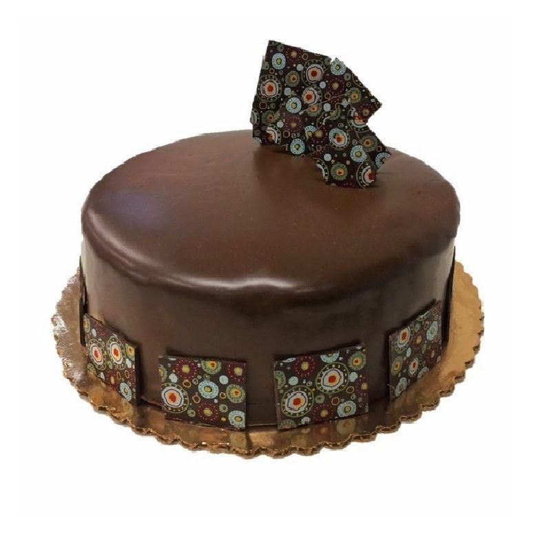 Chocolate Mousse Eggless Cake - 1 kg (Kabhie B)