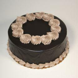 Truffle Walnuts  Eggless Cake - 1 kg (Kabhie B)