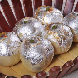 Mawa Kheer Badam (Guwalia Sweets)