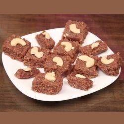 Akhrot Barfi (Guwalia Sweets)