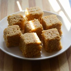 Orange Coconut (Guwalia Sweets)