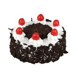 Black Forest Eggless Cake (Sunrise Bakery)