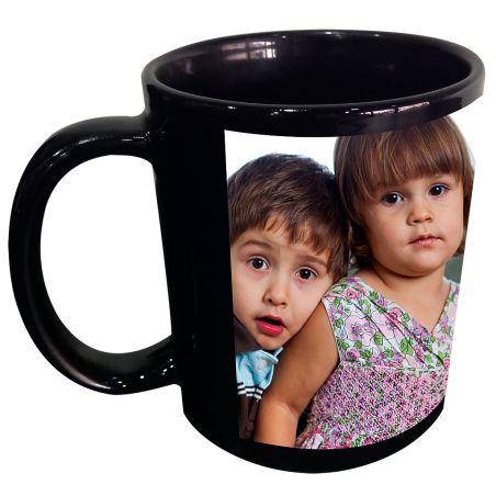Black Photo Mug