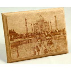 Wooden Engrave Frame