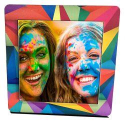 Rainbow table frame with...