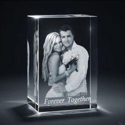3D Crystal Box Image...