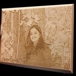Perfect Wooden engraving...