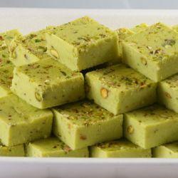 Pista Burfi (Nathus Sweets)