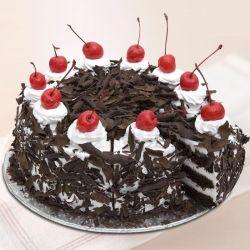 Black Forest Eggless Cake (Cake Corner)