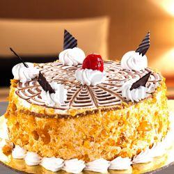 Butter Scotch Eggless Cake (Cake Corner)