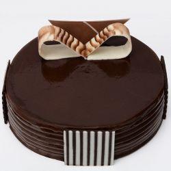 Chocolate Eggless Cake (Cake Corner)