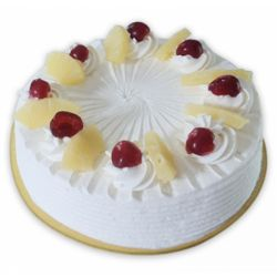 Pineapple Eggless Cake (Cake Corner)