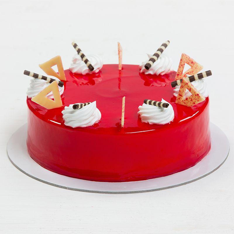 Strawberry Eggless Cake Online Adyar Bakery Chennai Orderyourchoice