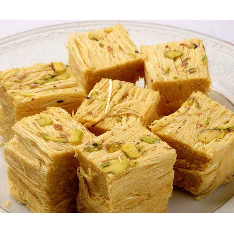 White Soan Papdi (Ganga Sweets)