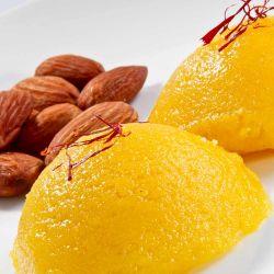 Badam Halwa (Ganga Sweets)