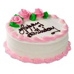 Strawberry Eggless Cake (Universal Bakery)