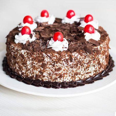 Black Forest Eggless Cake - 1Kg (Cake Point)