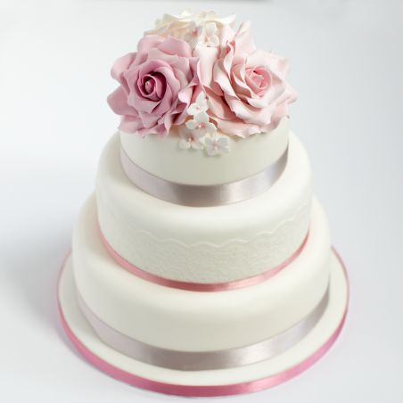 3 Tier Wedding Cake 6kg Orderyourchoice