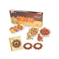 Assorted chikki and Dryfruits -Diwali gifts