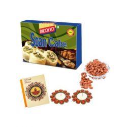 Soan Cake and Masala Almonds-Diwali gifts