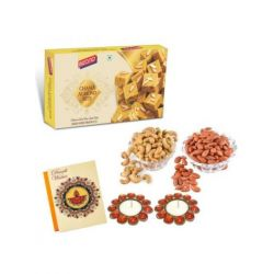 Chana Almond Bite 400 gm and dryfruits-Diwali special