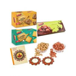 Chocolate Baked Bliss and dryfruits-Diwali special