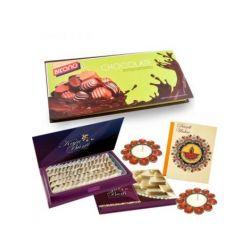 Chocolates and Kaju katli-Diwali gifts