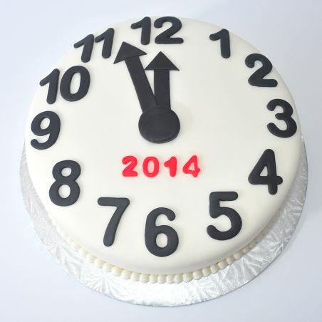 Clock Cake  2Kg