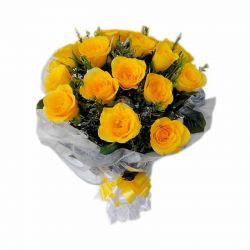 Prosperous Yellow Roses