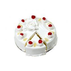 Pineapple Eggless Cake  - 2...