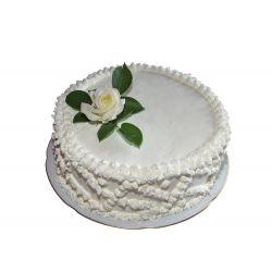 Vanilla Eggless Cake (Amma's Pasteries)