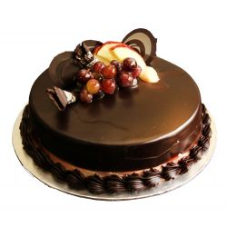 Fruit Truffle Cake - 1 kg (Amma's Pasteries)