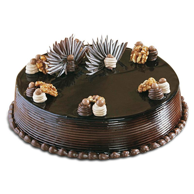Rich Chocolate Cake - 2 Pound (Kookie Jar)