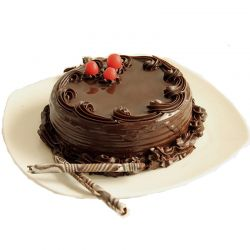 Chocolate Truffle Cake - 2 Pound (Kookie Jar)