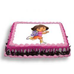Dora Photo Cake 2 Kg