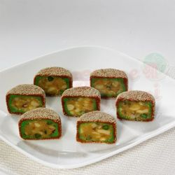 Kaju Pista Cutlet - (Shree Mithai )
