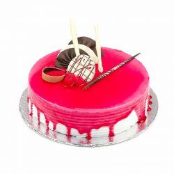 Strawberry Cake  (Sugar &...