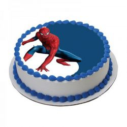 Spiderman Photo Cake - 2.5 kg