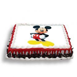 Micky Mouse Photo Cake - 2 kg