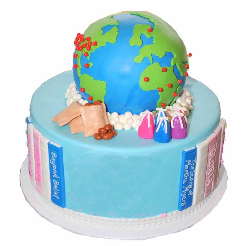 Order World Globe Cake Online Kids Cakes Orderyourchoice