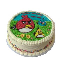 Angry Bird Cake - 1.5 Kg